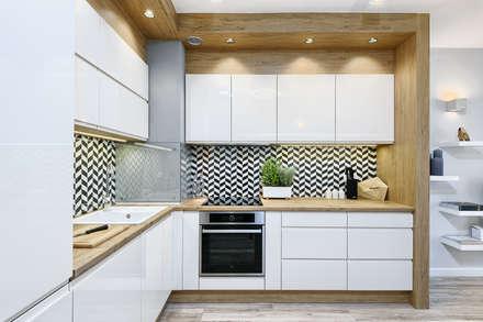 Cocinas de estilo escandinavo por Partner Design