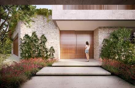 minimalistic Windows & doors by Mader Arquitetos Associados
