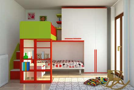 Cameretta bambini: Stanza dei bambini in stile in stile Moderno di OGARREDO