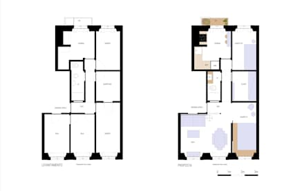 Apartamento Príncipe Real: Habitações  por blaanc