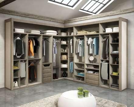 vestidores vestidores de estilo moderno de todomadera estepona