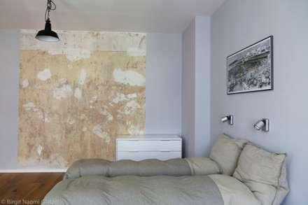 """""""Wohnung Amit"""": industriale Schlafzimmer von Birgit Glatzel Architektin"""