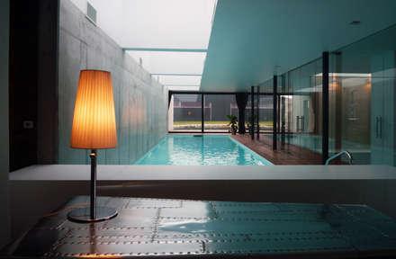 Waterhouse: minimalistischer Pool von Architekt Zoran Bodrozic