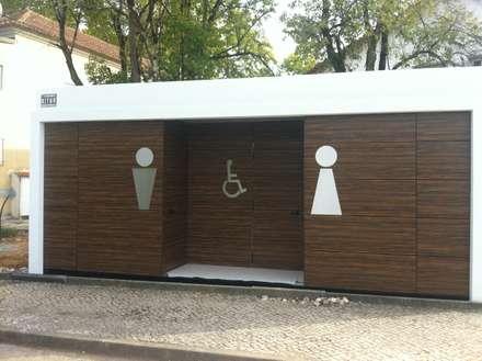 KITUR WC: Casas de banho campestres por KITUR