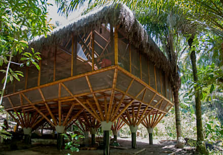 Universo Pol - Morro de San Pablo: Dormitorios de estilo topical por IR arquitectura