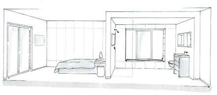 Schlafzimmer einrichtung inspiration und bilder homify - Fluchtpunkt zimmer zeichnen ...