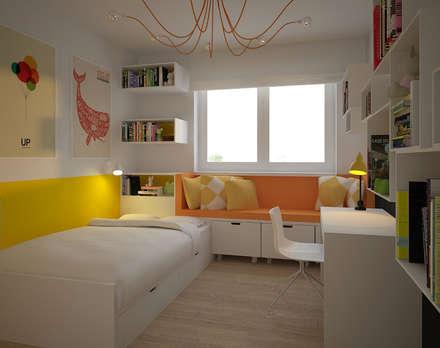 APARTAMENT_PODGÓRZE DUCHACKIE    : styl , w kategorii Pokój dziecięcy zaprojektowany przez motifo