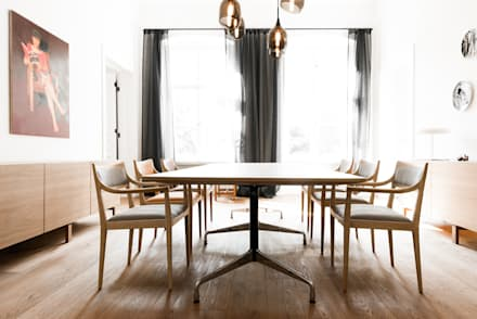 Dining room: scandinavian Dining room by Loft Kolasinski