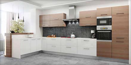 #1: styl , w kategorii Kuchnia zaprojektowany przez ARCHE VISTA