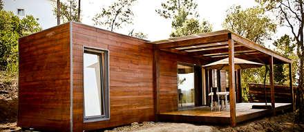 rustic Houses by goodmood - soluções de habitações