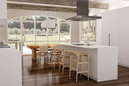 Vivienda: Cocinas de estilo moderno de eva9