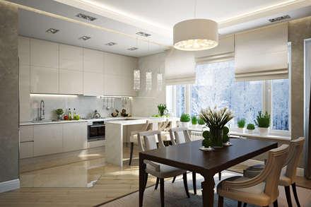 Таунхаус в г.Краснодар: Кухни в . Автор – Design Studio Details