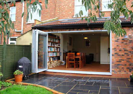 Ground Floor Extension, Drury Rd: classic Garden by London Building Renovation