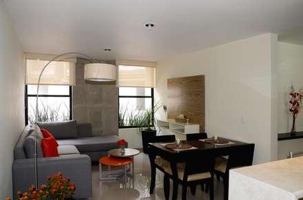 Privalia Sur: Comedores de estilo moderno por PABELLON de Arquitectura