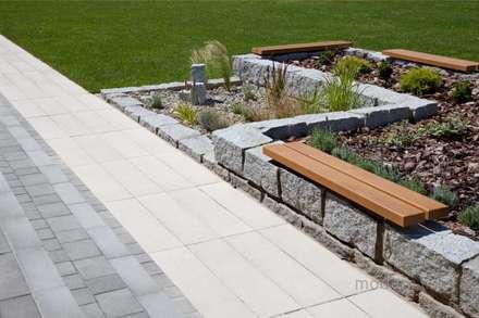 Nowoczesne nawierzchnie z betonu - taras i ogród: styl , w kategorii Ogród zaprojektowany przez Modern Line