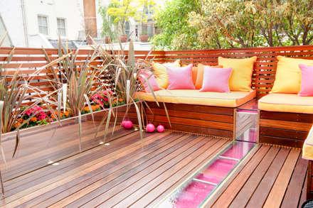 Montagu Square:  Terrace by Rebecca James Studio