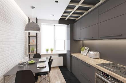 Проектик холостяка: Кухни в . Автор – Ivantsov design studio