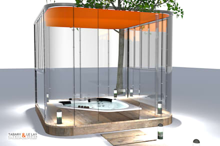 modern Spa by Tabary Le Lay