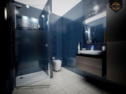 eclectic Bathroom by Decor&Design