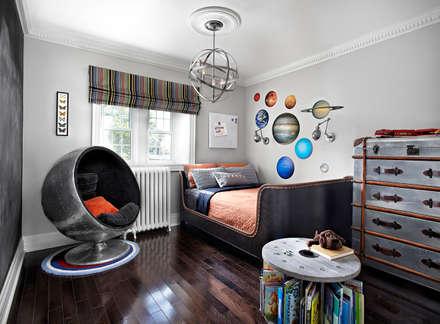 Maison Victorienne: Chambre d'enfant de style de style Industriel par ANNA DUVAL