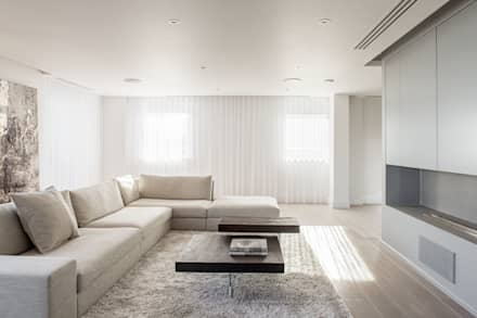 Living Room: minimalistic Living room by Francesco Pierazzi Architects