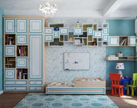 Как создать дизайн детской по готовому ремонту: Детские комнаты в . Автор – Студия дизайна Interior Design IDEAS