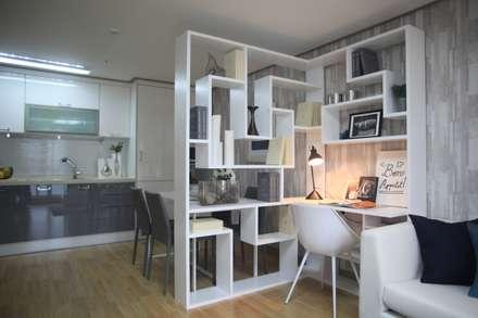 two room : design seoha의  침실