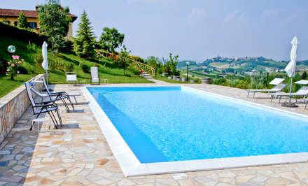 Piscina idee immagini e decorazione homify - Foto di piscine interrate ...