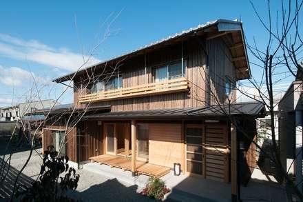 外観1: shu建築設計事務所が手掛けた家です。