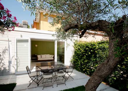 giardino urbano: Giardino in stile in stile Eclettico di bilune studio
