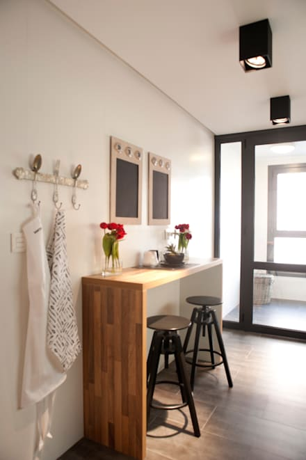 perfect proyecto de decoracin de vivienda en bilbao sube susaeta sube contract cocinas with cocinas integradas en salon comedor - Cocinas Integradas En El Salon