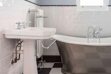 Kensal Rise House: classic Bathroom by Blankstone