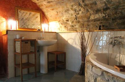 Bagni In Muratura Rustici. Design Bagno Stile Rustico Moderno Bagni ...