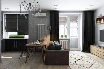 Livings de estilo escandinavo por Solo Design Studio