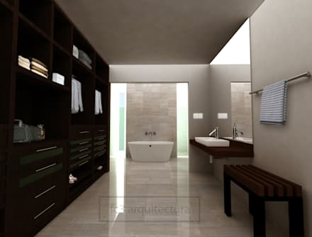 modern Dressing room by fc3arquitectura