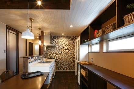 A's HOUSE: dwarfが手掛けたキッチンです。