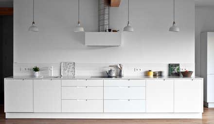 Projekty domów - House 27.1 - realizacja: styl , w kategorii Kuchnia zaprojektowany przez Majchrzak Pracownia Projektowa