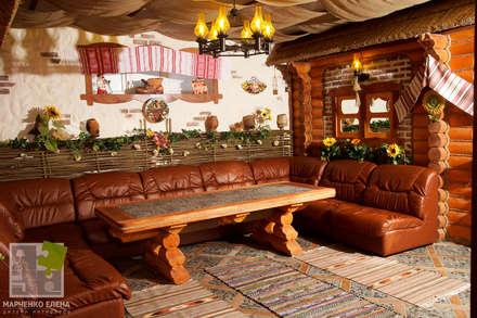 Комната отдыха в бане (фото): Медиа комнаты в . Автор – Елена Марченко