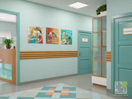 Медицинский центр (рецепшн): Больницы в . Автор – Елена Марченко