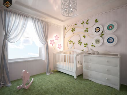 classic Nursery/kid's room by Decor&Design