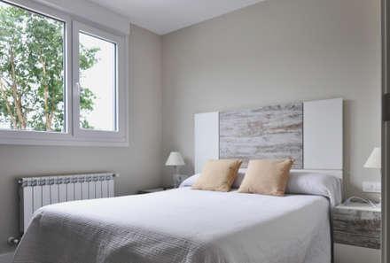 Casa prefabricada Cube  75 m2 - Dormitorio: Dormitorios de estilo moderno de Casas Cube