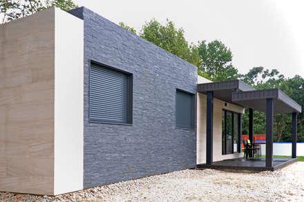Casa prefabricada Cube  75 m2 - Fachada: Casas de estilo moderno de Casas Cube