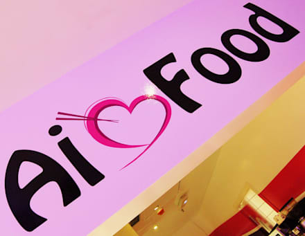 """Fast Food """"Ai Food"""": Locales gastronómicos de estilo  de Arquitectura de Interior"""