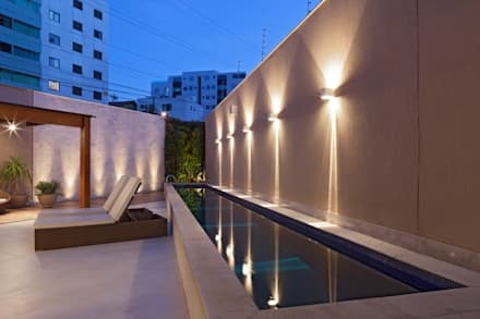 modern Pool by Estela Netto Arquitetura e Design