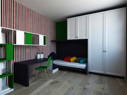 INdesign – çocuk odası: modern tarz Çocuk Odası