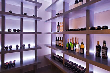 Bodegas de vino de estilo asiático por Susana Camelo