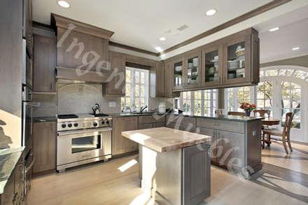 COCINAS INTEGRALES: Cocinas de estilo moderno por Ingenio muebles