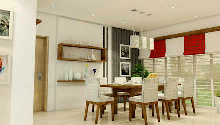 Dining Space: modern Dining room by BN Architects