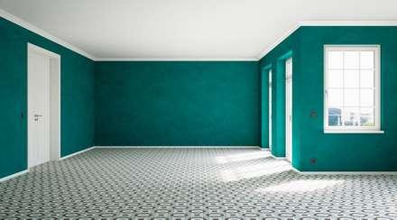 Vintage Coloured: skandinavische Wohnzimmer von makasa