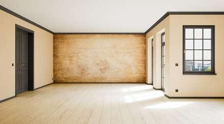 Vintage Retro: skandinavische Wohnzimmer von makasa